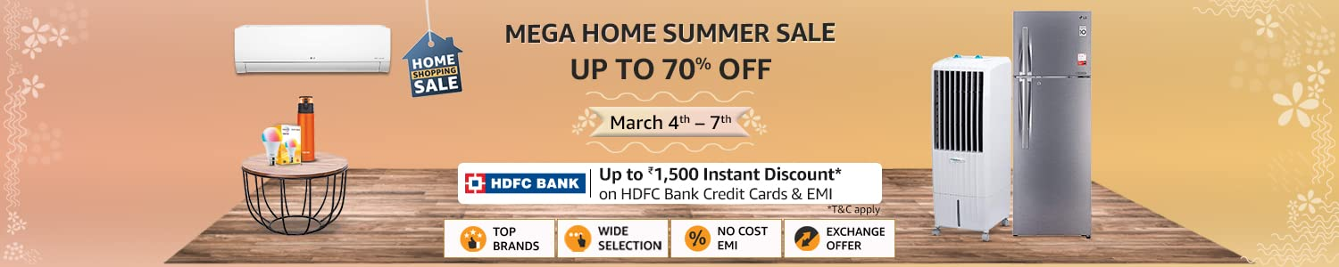 Mega home summer sale
