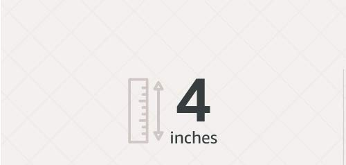 4 inches