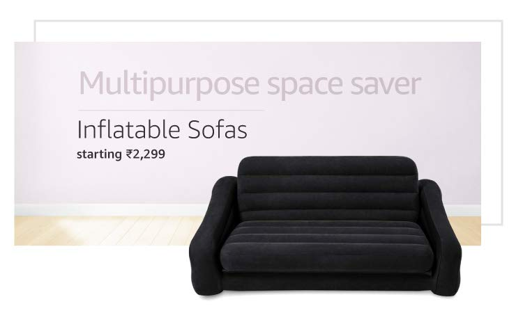 Inflatable sofas