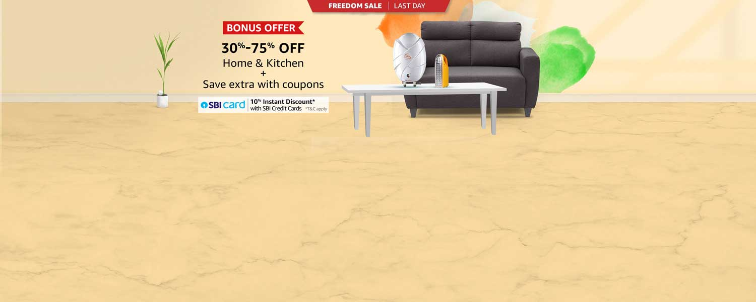 Home & Kitchen - Additional Discounts for limited time period @ Amazon.in