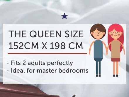 The queen size