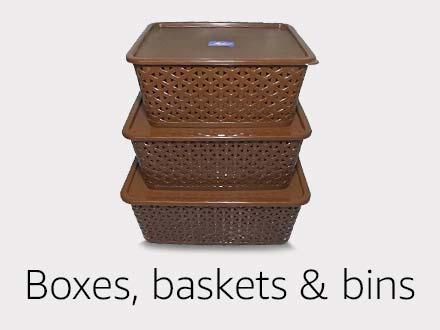 Boxes, baskets & bins