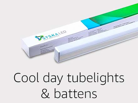 Cool day tubelights & battens