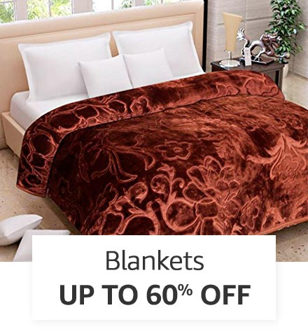 Blankets | Up to 60% off