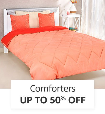 Comforters   Up to 50% off