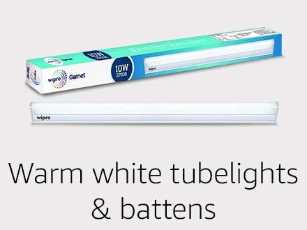Warm white tubelights & battens