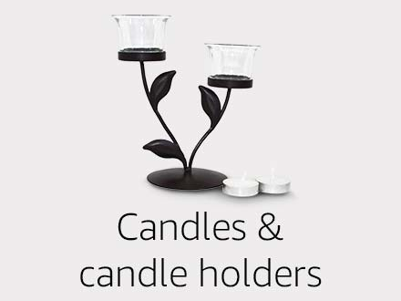 Candle & candle holders