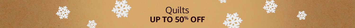Quilts Up to 50% off
