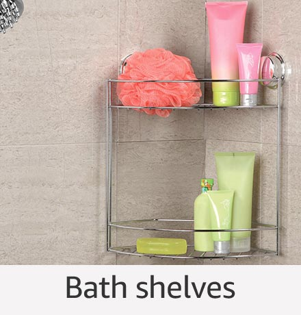 Bath shelves