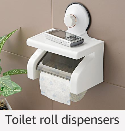 Toilet roll dispensers
