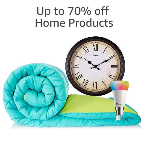 Up to 70% off Home Products