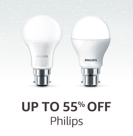Up to 55% off Philips