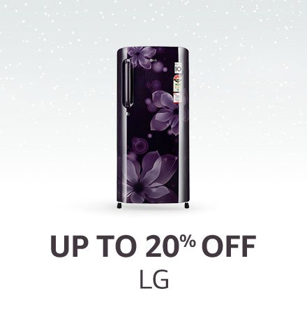 Up to 20% off LG