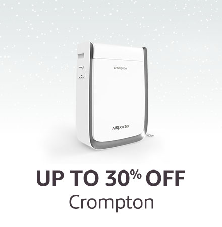 Up to 30% off Crompton