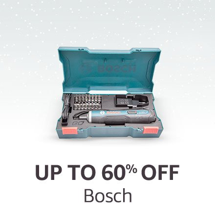 Up to 60% off Bosch