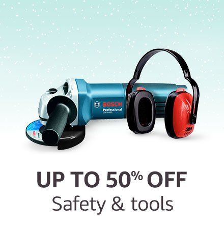 Safety & tools | Up to 50% off