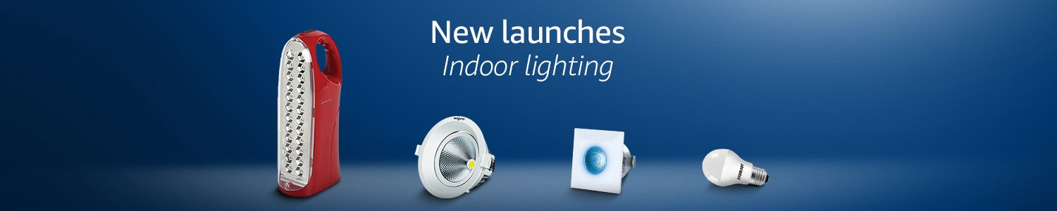 New Launches Indoor Lighting