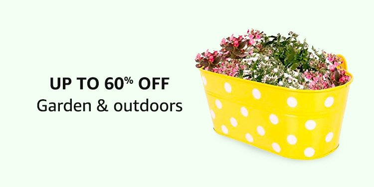 Up To 60% Off Garden & Outdoors