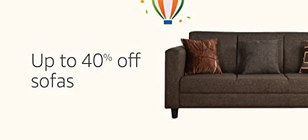 Sofas: Up to 40% off