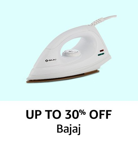 Up to 30% off Bajaj