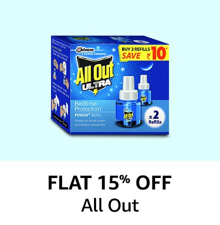Flat 15% off Allout
