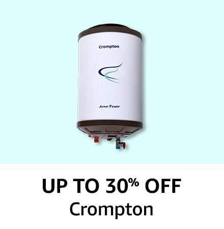 Crompton: Up to 30% off