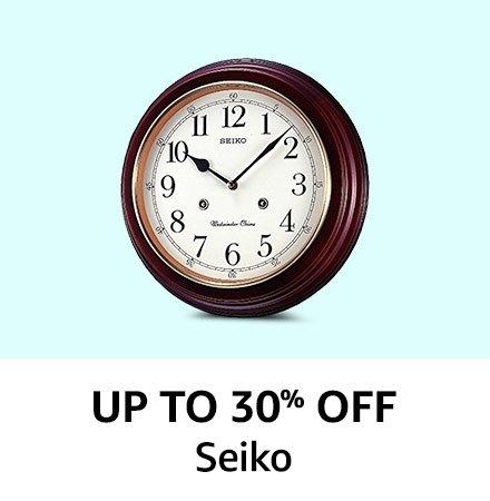 Seiko Up to 30% off