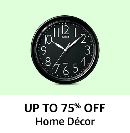 Up to 75% off Home Decor
