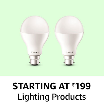 Starting at 199 lighting products