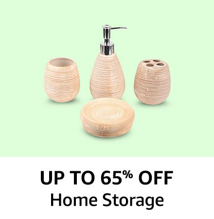 Up to 65% off home storage