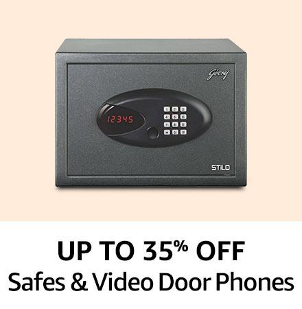 Up to 35% off safes & video door phones