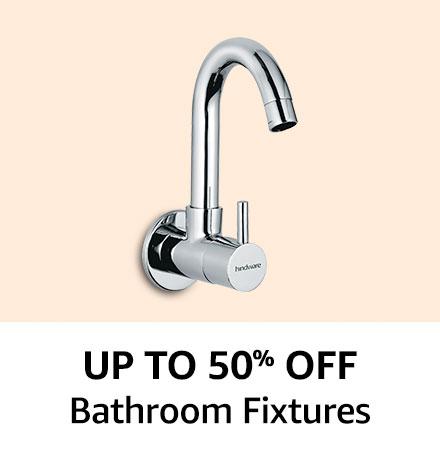 Upto 50% off Bathroom Fixtures