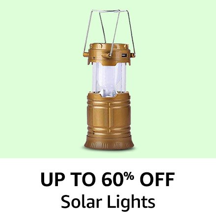 Solar Lights Up to 60% off