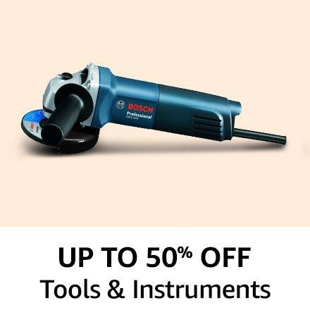 Upto 50% off Tools & Instruments