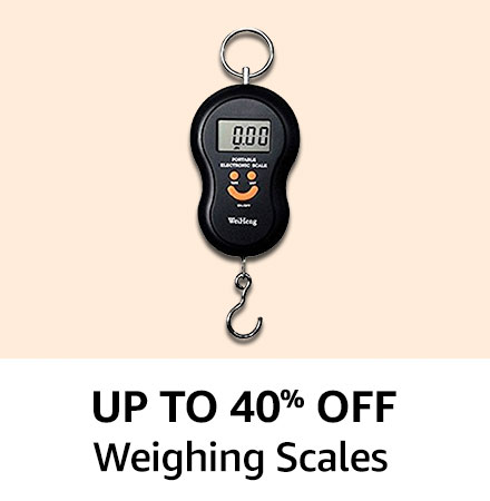 Upto 50% off Weighing Scales