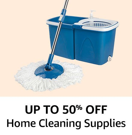 Upto 50% off Home cleaning supploes