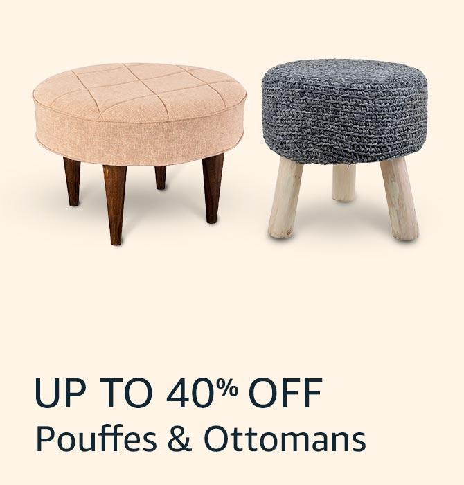 Pouffes & Ottomans
