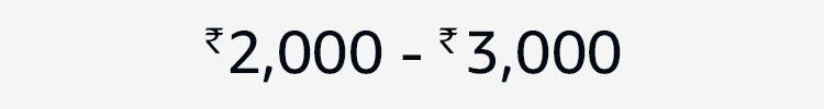Rs.2000- 3000