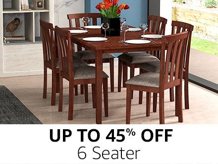 Dining Table Sets. 2 seater · 4 Seater · 6 Seater  sc 1 st  Amazon.in & Dining Table: Buy Dining Table online at best prices in India ...