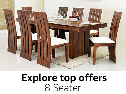 8 Seater. Dining Table  Buy Dining Table online at best prices in India