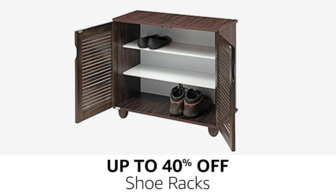 Up to 40% off | Shoe racks