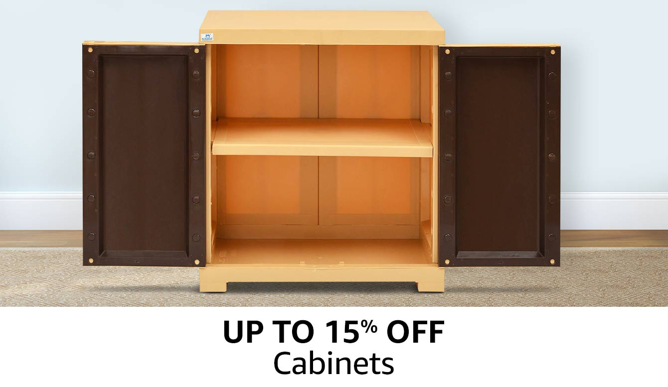 Up to 15% off | Cabinets