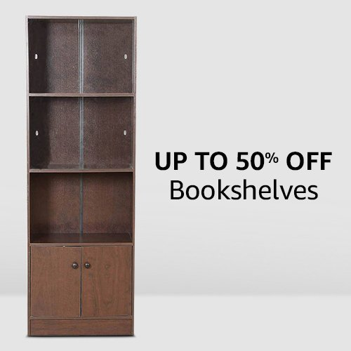 Bookshelves | up to 50% off