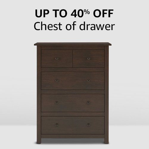 Chest of drawers | Up to 40% off