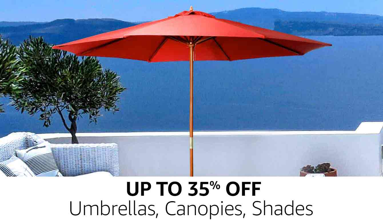 Umbrellas, Canopies, Shades