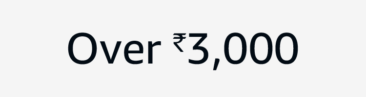 Over Rs. 3000