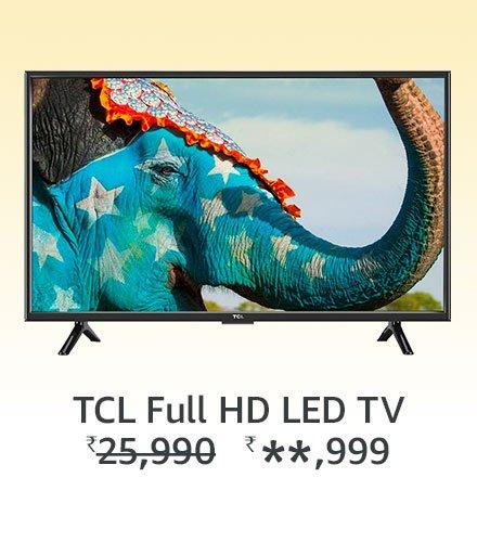 TCL full HD LED TV
