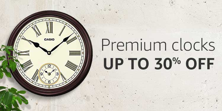Premium Clocks | Up to 30% off