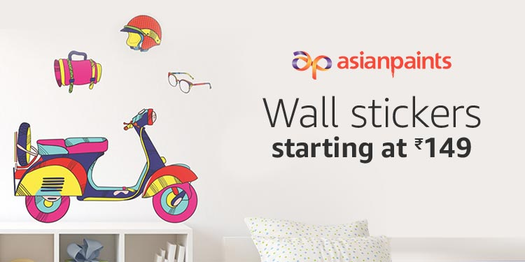 Wall Stickers Starting At Rs.149 Part 63