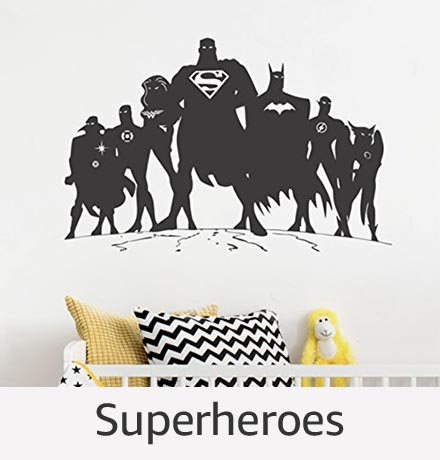 Superheroes Wall Stickers